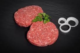 haché hamburger porc